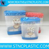 vacuum food storage container set 3pieces rectangular shape                                                                                                         Supplier's Choice