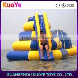 inflatable floating island with slide,float island toys inflate,sliding water toys inflatable float island