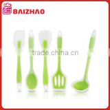 2015 New Design Colorful cheap Kitchen Silicone Utensil Set,/Silicone Kitchen Cooking Utensils for Cooking