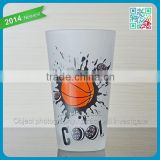 Oreo Promotion Frosted Drinking Beverage Glass Cup 100% Match Juice Glass Cup to Cookie Children Use Lovely Beverage Cup Glasses