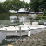 waterwish boat QD 18 OPEN FRP fishing speed boat