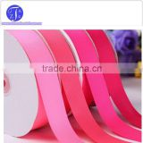 Factory supply red pink baby ribbon Spool Type for hair bows clip 10 15 19 22 25mm                                                                         Quality Choice
