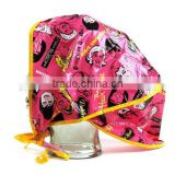 Cheaper PE rain bonnet,disposable plastic ain hat