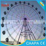 high quality used underground ferris wheel equipment, wheel rolling in hot sale