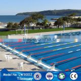 Acid resistant best cobalt blue laying ceramic floor tile swim pool