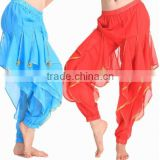 2016 Chiffon Indian Belly Dance Harem Pants Phnom Penh Rotating Women Dance Wear Pants