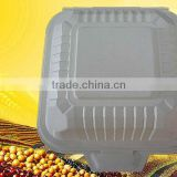 Biodegradable Hamburger Box,eco burger box,corn starch high quality container,food packaging