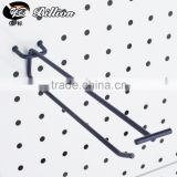 New style supermarket hooks spray black retail pegboard hook