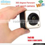 Action Camera outdoor 360 degree 360x180 Large Panoram Camera Lens 1.5 Inch Mini Sports Camera VR 30fps