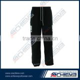 factory price 100% polyester custom ice hockey pants