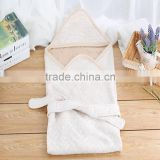 Soft cotton Baby Swaddle Newborn Adjustable Infant Wrap Blanket