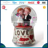 Top Sale Custom Wedding Musical Snow Globe
