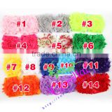 High Quality Shabby Chiffon Flower Trim,Chiffon Hair Flowers,Chiffon Flower Headband Cheap Wholesale