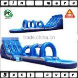 commercial giant inflatable water slide slip n slide with pool,giant inflatable water slide for adult for sale