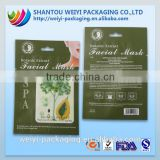 laminated plastic cosmetic packaging carboxy co2 gel mask pack