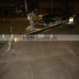 High quality I-BEAM double axles aluminum Boat Trailer for sale