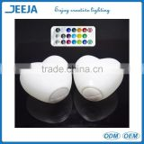 3.5 Inch Diameter Multicolor Night LED Heart Light Holiday/Party/Wedding Occasion Supply