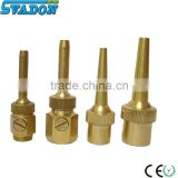 Water jet fountain nozzle jumping jet fountain nozzle fountain spray nozzle dancing fountain nozzle