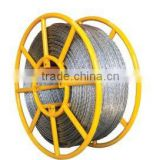 Quality assurance Anti-twisting braided and rotating stainless steel wire rope used for winch