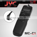 JYC Wired Timer Controller MC-C3 with Interchangeable Cables for Canon Camera 5D MARK III 7D D60