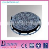 D400 Made in China ductile cast iron telecom manhole cover