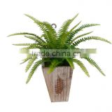 Wholesale high simulation Persia leaves handmade artificial plant for Christmas flower arrangement