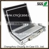 Hight quality and pretty protection business smll aluminum computer case