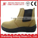 genuine leather pu sole safety work boots construction no lace safety boots Hammer safety boots for Middle East market.