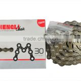 "hengli MTB bicycle chain 1/2""*3/32"" M30 high quality factory price durable bicycle chains bicycle parts"
