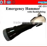 2013 New Design Auto Emergency Break Glass Hammer With Flashlighting