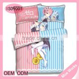 Re: Life in a Different World from Zero Rem Ram Anime bed covers and comforters sets king size