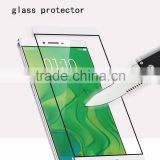 0.33mm colorful asahi tempered glass screen protector for oppo r7 plus
