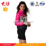 Ladies coat winter blazer down jacket outdoor skiing jacket cheap china wholesale clothing