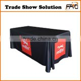 Flame Retardant Trade Show Stretch Polyester Table Cloth