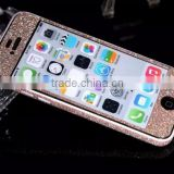 Bling glitter mobile phone sticker skin for iphone 4s 5s 6 6s plus