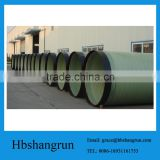 FRP underground water supply pipe for river water