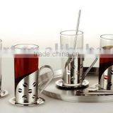 Heat-resistat glass Irish coffee mug set 13pcs