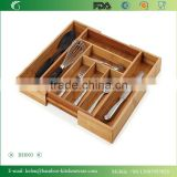 BH003/FLGB/FDA Eco-friendly bamboo wooden display cabinet kitchen cutlery cabinet for kitchenware