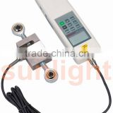 Digital Force Gauge Push and Pull Force Meter N/KG/LB 0-5000N RS232 External Sensor HF-5000