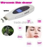 Portable LCD Ultrasonic Skin Scrubber Cleaner Face Cleaning Acne Removal Spa Beauty Tool Facial Pore Clean Peeling Tone Lift
