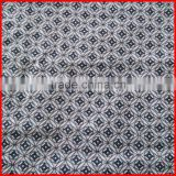 stock fabric 100%cotton fabric with copper cash design printing for western style suit lining