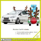 Reindeer Antlers and Nose Car Decoration