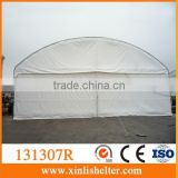 Steel Construction Dome PVC Fabric Hangar Tent