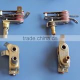 Oil heater thermostat bimetal thermostat . Heater Fry pot Frying pan Fryer Deep fryer pan Electric iron