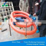 Portable / Mobile grain suction machine with soft pipes