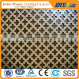 Hot sale perforated sheets / stainless steel sheet / aluminum sheet with various hole shape