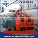 High Speed Electric Mining Scraper Winch With Electric Trolley
