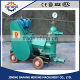 2016 Single cylinder piston grouting pump Horizontal Triplex Reciprocating Piston Slurry Mortar Grouting Pump