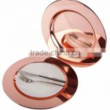 High qulaity copper Charger Plate
