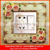 Beautiful Resin Wall Socket Frames